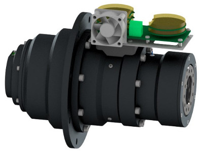 4by3 actuator 300Nm cad